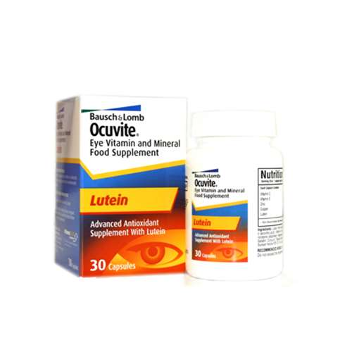 Bausch & Lomb Ocuvite Lutein 6mg Capsules (30)