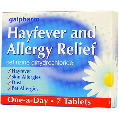 Click to view product details and reviews for Galpharm Hayfever Allergy Relief Tablets 7.
