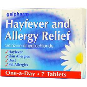 Galpharm Hayfever & Allergy Relief 10mg Tablets (7)