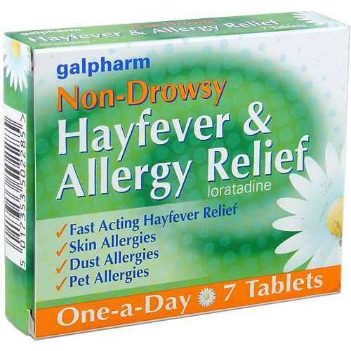 Galpharm NonDrowsy Allergy Relief Tablets (7)