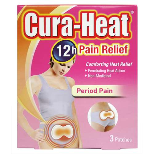 Image of Cura-Heat Pads - Period Pain (3)