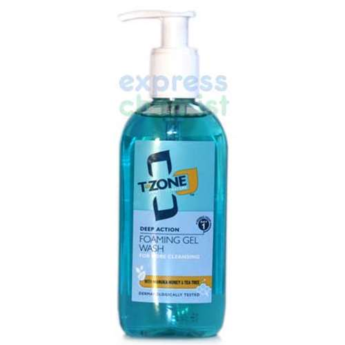 T Zone Deep Pore Gel Facial Wash 150ml