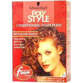 Poly Style Conditioning Foam Perm - Dry / Colour Treated Hair