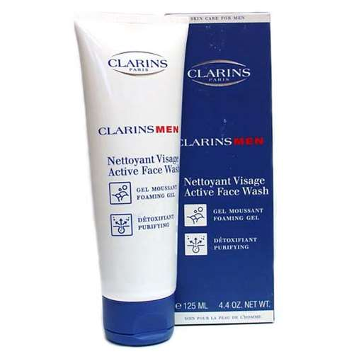 Image of Clarins Men Active Face Wash Foaming Gel 125ml