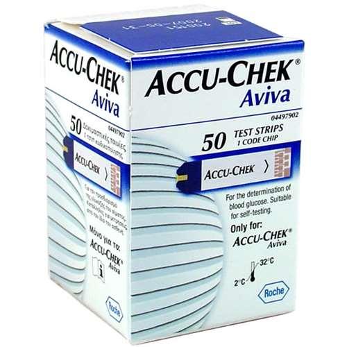 Accu-Chek Aviva Test Strips (50)