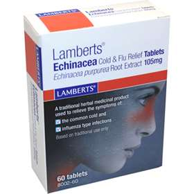 Lamberts Echinacea 105mg 60 Tablets