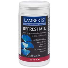 Lamberts Refreshall (GINKO, LEMON BALM, SAGE AND ROSEMARY) 120