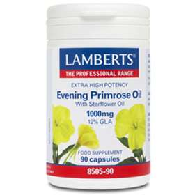 Lamberts Extra Potency Evening Primrose Oil & Starflower Oil (90)