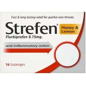 Strefen Honey & Lemon Lozenges (16)