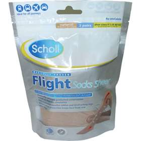 Scholl Flight Socks Sheer 6.5-8