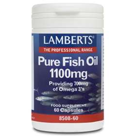 Lamberts Pure Fish Oils 1100mg (60)