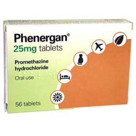 Phenergan Tablets 25mg 56