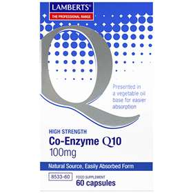 Lamberts Co-Enzyme Q10 100mg 60 capsules