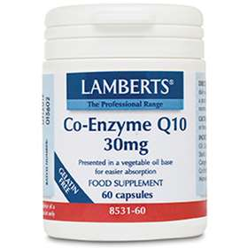 Lamberts Co-Enzyme Q10 30mg (60)