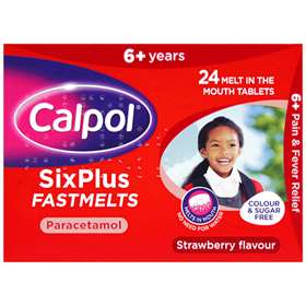 Calpol Six Plus FastMelts 24 6677