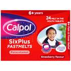 Calpol Colour and Sugar Free Six Plus FastMelts 24