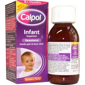 Calpol Infant Suspension Strawberry 100ml 2630
