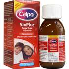 Calpol Six Plus Sugar Free Suspension 100ml