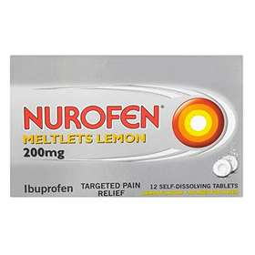 Nurofen Meltlets Lemon 12