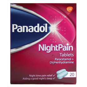 Panadol NightPain Tablets (20)