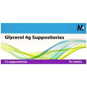 Glycerin Suppositories for Adults (12)