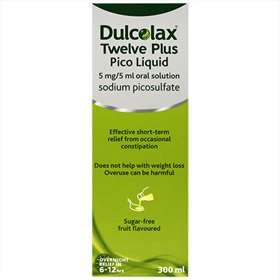 Dulcolax Twelve Plus Pico Liquid 300ml