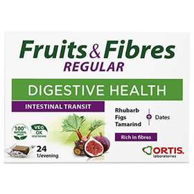 Ortis Fruits and Fibres chewable cubes 24