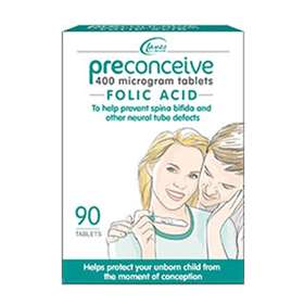 Preconceive Folic Acid Tablets 90