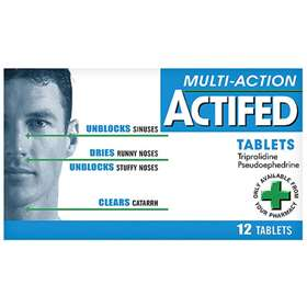 Actifed Multi-ActionTablets (12)
