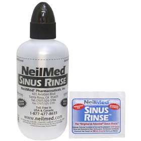 Free Neilmed Sinus Rinse Kit With Two Packets