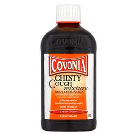 Covonia Chesty Mentholated Cough Mixture 300ml