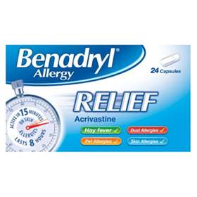 Benadryl Allergy Relief (24)