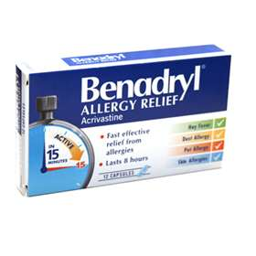 Benadryl Allergy Relief (12)
