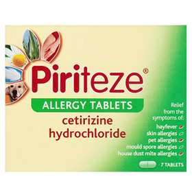 Piriteze Allergy Tablets (7)