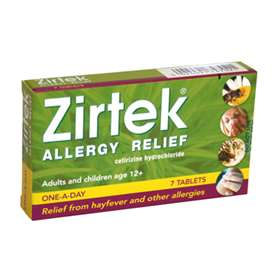 Zirtek Allergy Relief 7