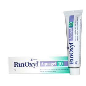 Panoxyl 10 Aquagel 40g - ExpressChemist.co.uk - Buy Online