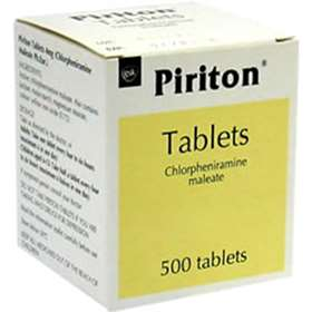 Piriton Allergy Tablets 500