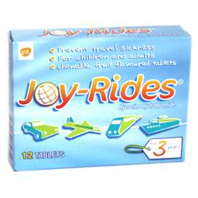 Joy-Rides Travel Sickness Tablets (12)