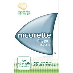 Nicorette Gum 2mg Original low Strength (105)