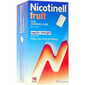 Nicotinell Fruit Chewing Gum 96 pieces 2mg