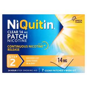 Niquitin CQ Patches Clear Step 2 14mg (7)