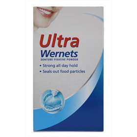 Poligrip ULTRA Wernets Denture Fixative Powder 40g