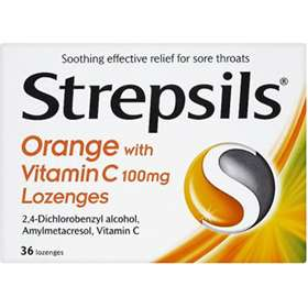 Strepsils Orange with Vitamin C 100mg 36