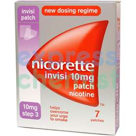 Nicorette Invisi-Patch 10mg Step 3 (7 patches)