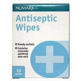 Numark Antiseptic Wipes 10 sachets