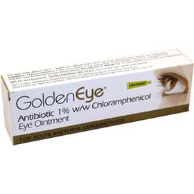 GoldenEye Chloramphenicol Eye Ointment 4g