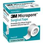 3M Micropore Surgical Tape 2.5cm x 5m