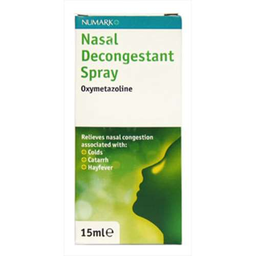 Click to view product details and reviews for Numark Nasal Decongestant Oxymetazoline Spray 15ml.
