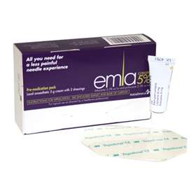 Emla Pre-Medication Pack Single Application PURPLE