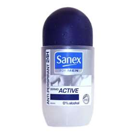 Sanex For Men Dermo Active Anti-Perspirant Roll On 50ml(Navy Blue)